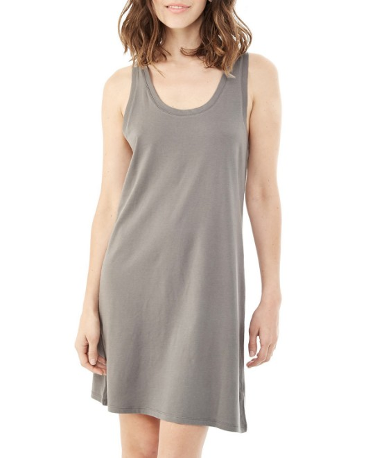 Picture of Alternative 02836MR Womens Effortless Cotton Modal Tank Dress