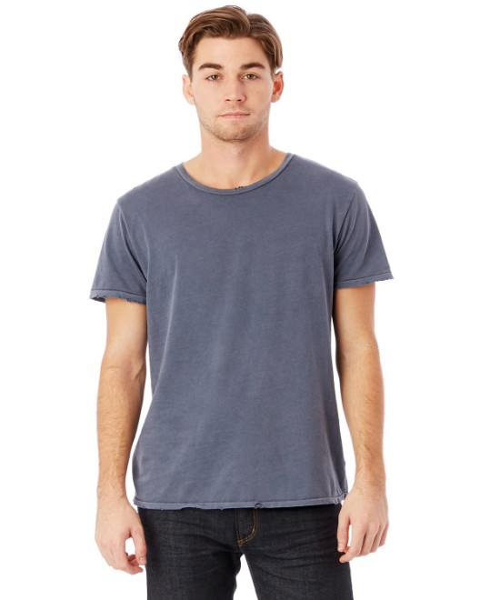 Picture of Alternative 04850C1 Men's Heritage Garment-Dyed Distressed T-Shirt