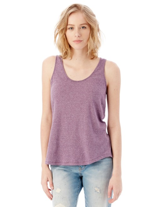 Picture of Alternative 05054BP Womens Backstage Vintage Jersey Tank