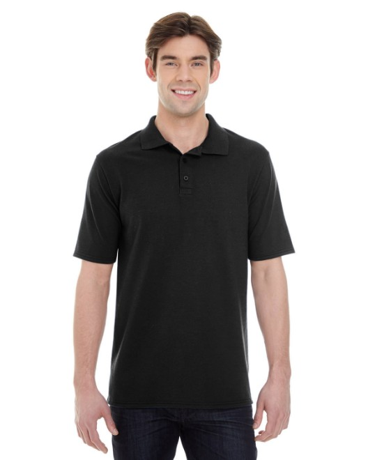 Picture of Hanes 055P Men's 6.5 oz. X-Temp Pique Short-Sleeve Polo with Fresh IQ