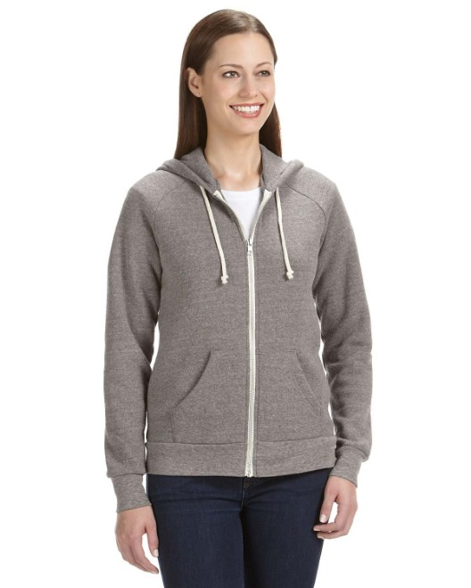 Picture of Alternative 09573F2 Womens Adrian Eco-Fleece Hoodie