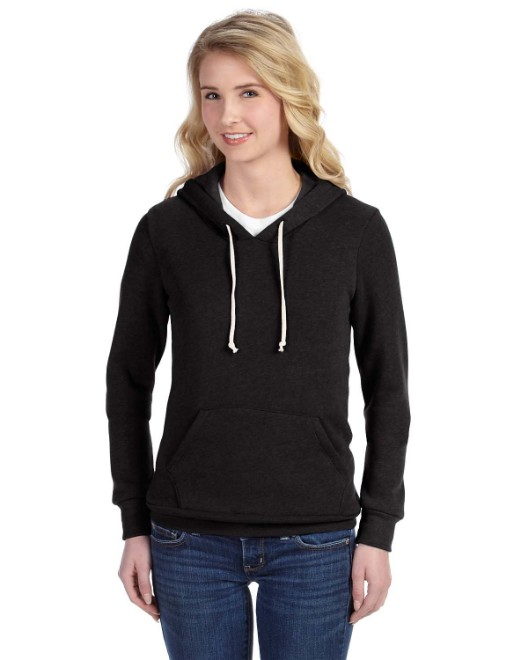 Picture of Alternative 09596F2 Womens Athletics Eco-Fleece Hoodie
