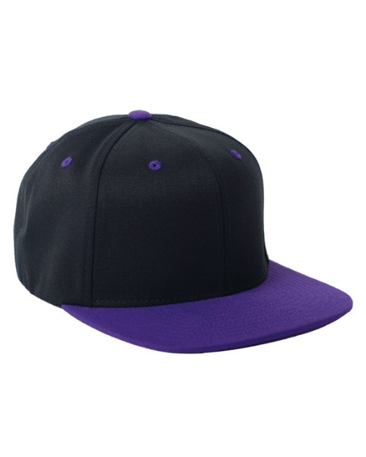 Picture of Flexfit 110FT Adult Wool Blend Snapback Two-Tone Cap