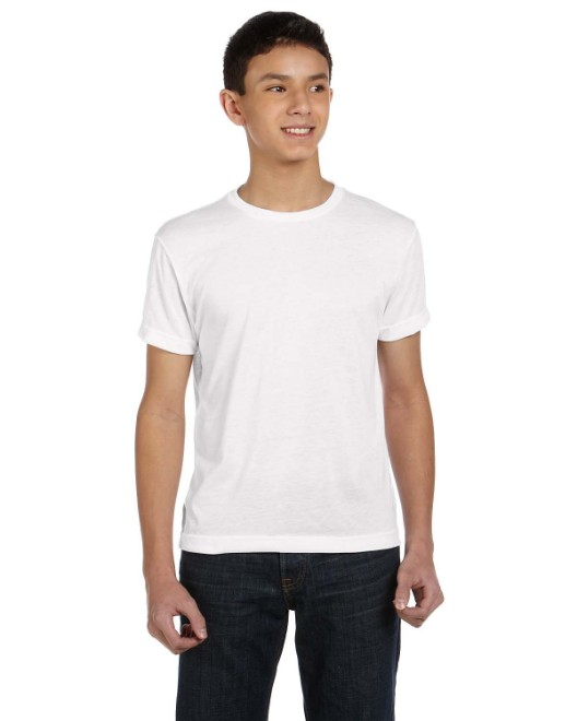 Picture of SubliVie Drop Ship 1210 Youth Sublimation Polyester T-Shirt
