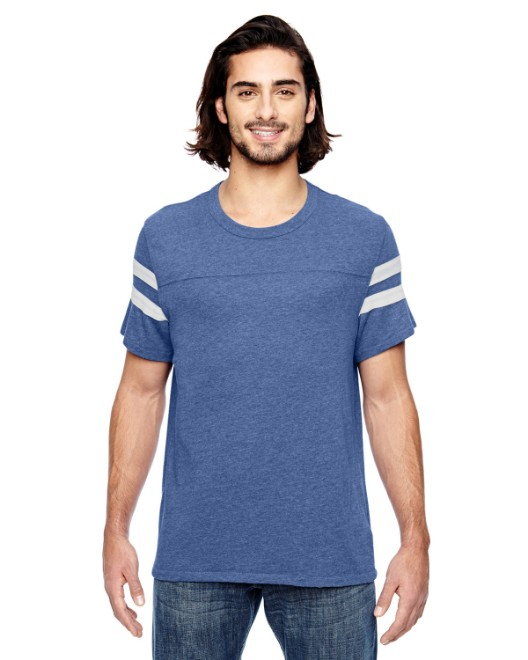 Picture of Alternative 12150E1 Unisex Short-Sleeve Football Eco-Jersey T-Shirt