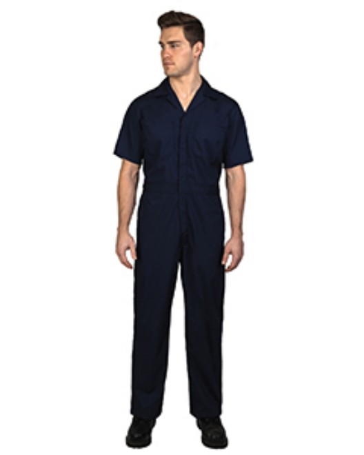 Picture of Walls Outdoor 1216 Unisex Twill Non-Insulated Short-Sleeve Coverall