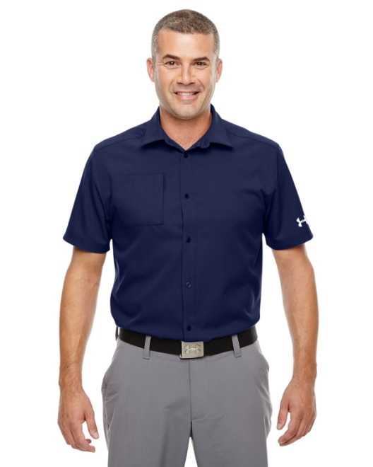 Picture of Under Armour 1259095 Men's Ultimate Short Sleeve Buttondown