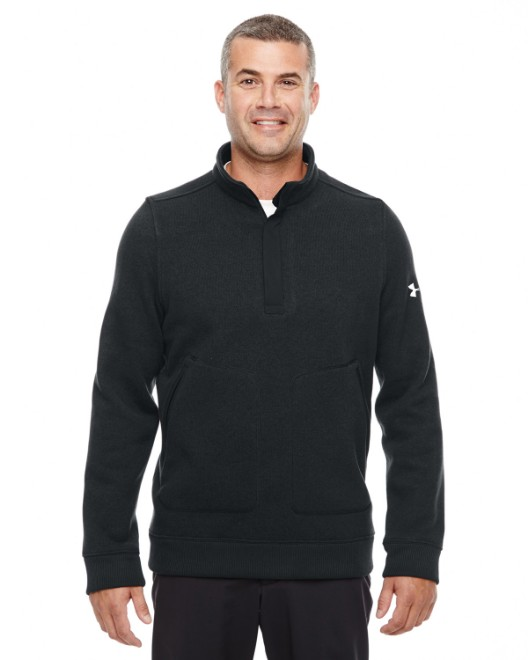 Picture of Under Armour 1259101 Men's Elevate 1/4 Zip Sweater