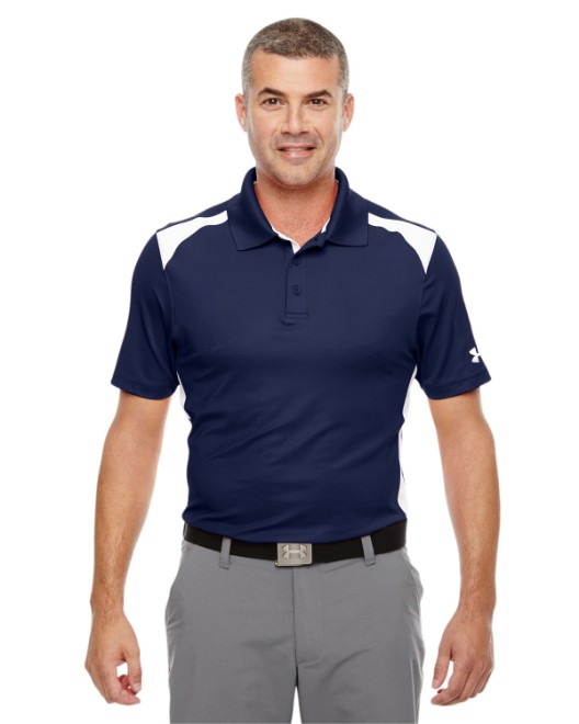 Picture of Under Armour 1283702 Men's Team Colorblock Polo