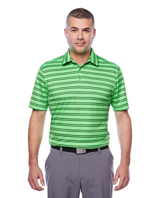 Picture of Under Armour 1283704 Tech Stripe Polo