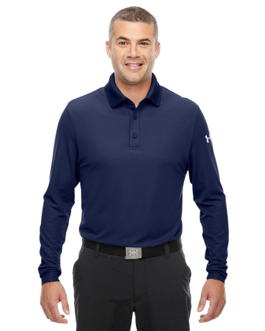 Picture of Under Armour 1283708 Men's Performance Long Sleeve Polo