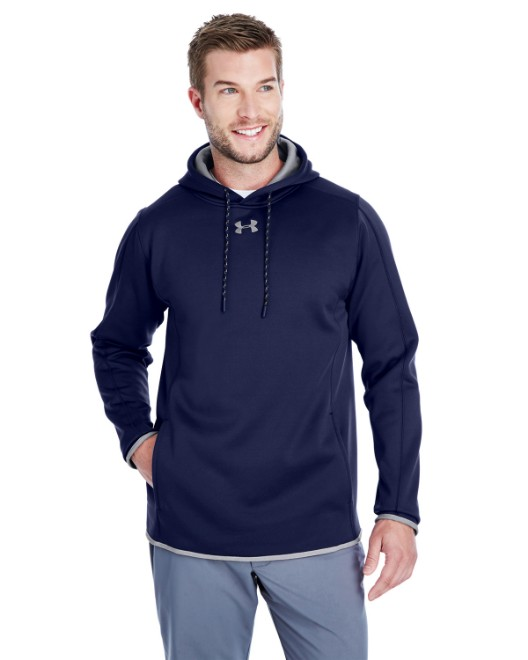 Picture of Under Armour 1295286 Men's Double Threat Armour Fleece Hoodie