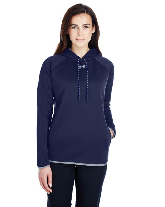 Picture of Under Armour 1295300 Ladies' Double Threat Armour Fleece Hoodie