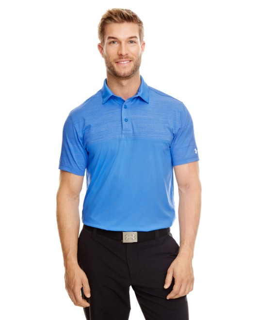 Picture of Under Armour 1300133 Men's UA Playoff Block Polo