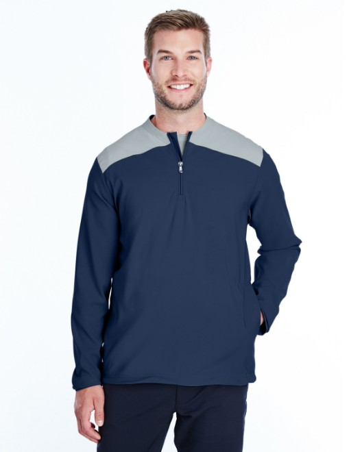 Picture of Under Armour 1317220 Men's Corporate Triumph Cage Quarter-Zip Pullover