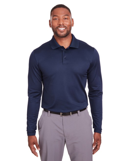 Picture of Under Armour 1343090 Mens Corporate Long-Sleeve Performance Polo