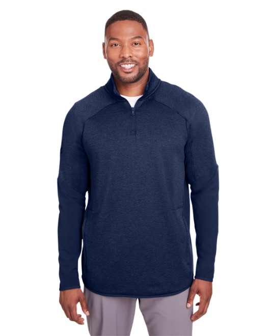 Picture of Under Armour 1343104 Mens Qualifier Hybrid Corporate Quarter-Zip