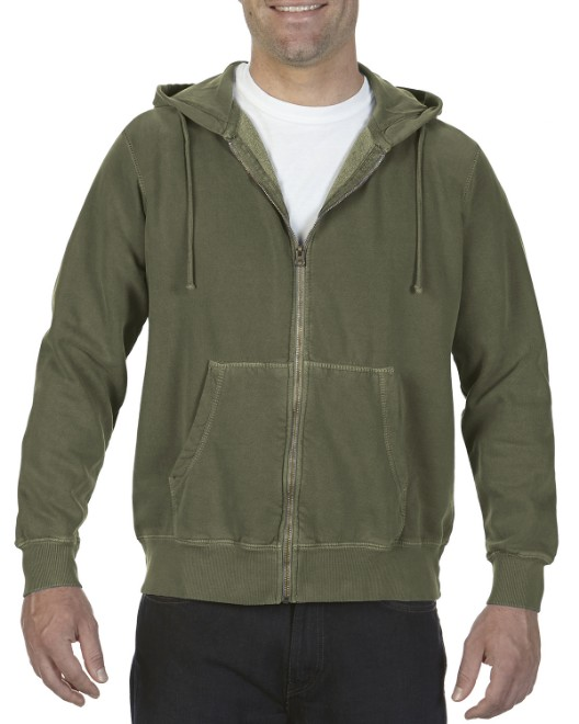 Picture of Comfort Colors 1568 Adult Full-Zip Hooded Sweatshirt