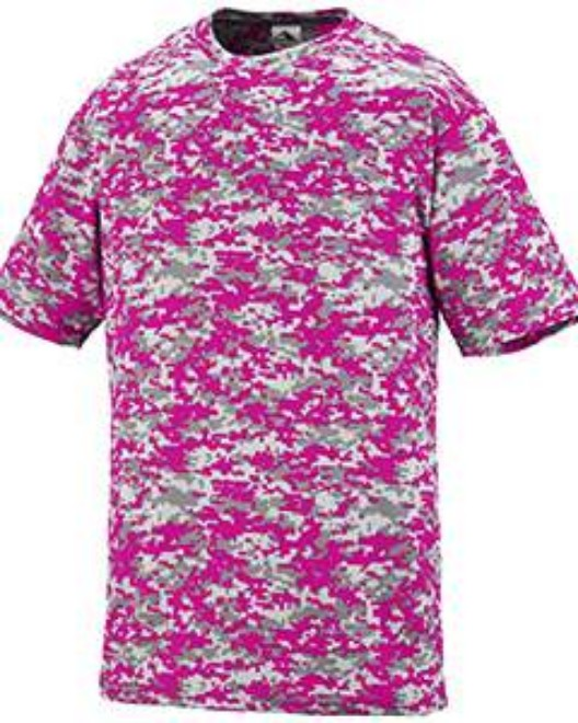 Picture of Augusta Sportswear 1798 Adult Digi Camo Wicking Short-Sleeve T-Shirt
