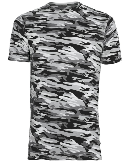 Picture of Augusta Sportswear 1805 Adult Mod Camo Wicking Short-Sleeve T-Shirt