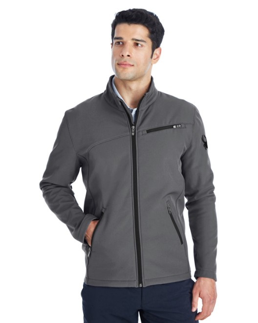 Picture of Spyder 187334 Men's Transport Soft Shell Jacket