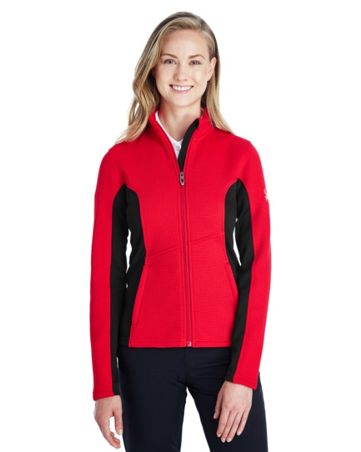 Picture of Spyder 187335 Womens Constant Full-Zip Sweater Fleece