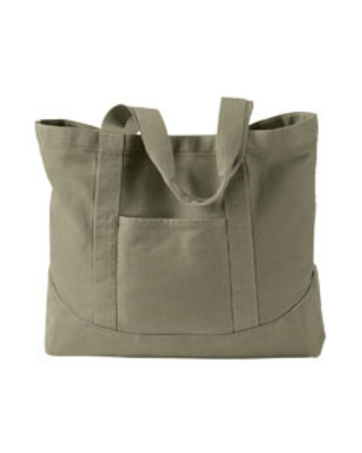 Picture of Authentic Pigment 1904 14 oz. Pigment-Dyed Large Canvas Tote
