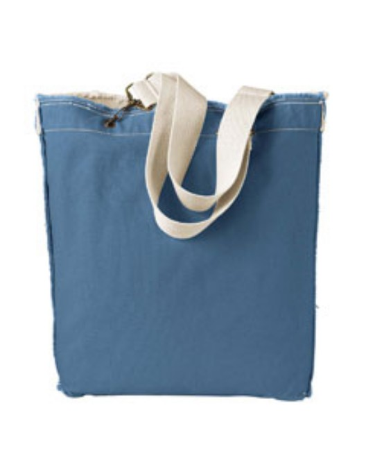 Picture of Authentic Pigment 1906 14 oz. Direct-Dyed Raw-Edge Tote