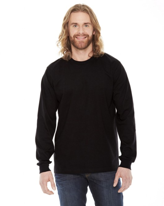 Picture of American Apparel 2007 Unisex Fine Jersey USA Made Long-Sleeve T-Shirt