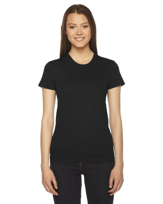 Picture of American Apparel 2102 Womens Fine Jersey USA Made Short-Sleeve T-Shirt