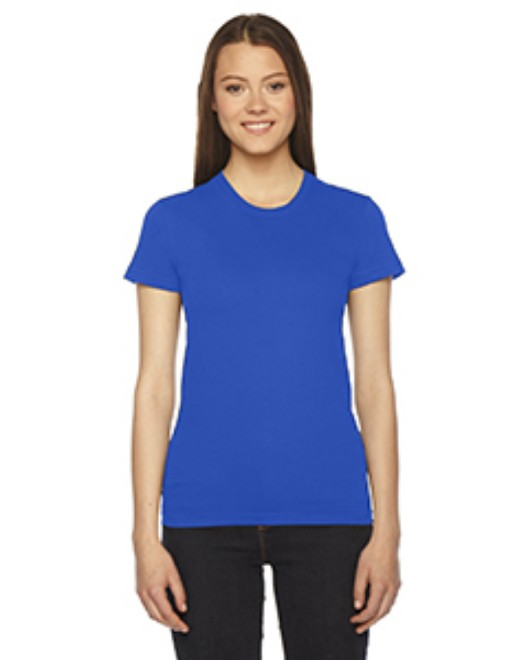 Picture of American Apparel 2102W Womens Fine Jersey Short-Sleeve T-Shirt