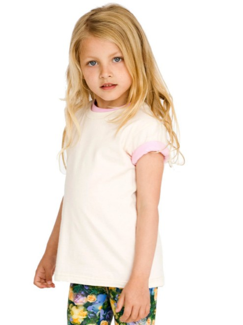 Picture of American Apparel 2105ORW Toddler Organic Fine Jersey Short-Sleeve T-Shirt