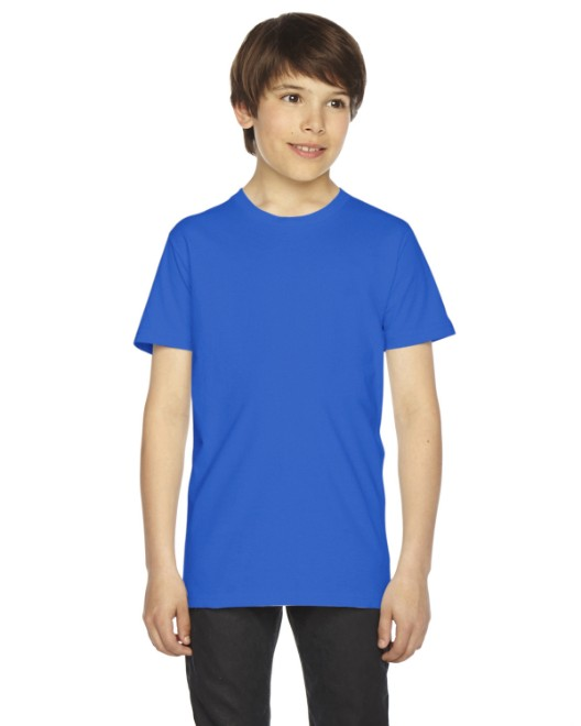 Picture of American Apparel 2201 Youth Fine Jersey USA Made Short-Sleeve T-Shirt