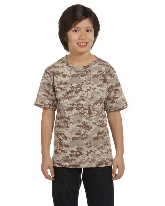Picture of Code Five 2206 Youth Camo T-Shirt