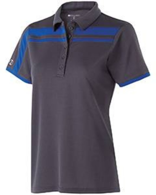 Picture of Holloway 222387 Ladies' Polyester Closed-Hole Charge Polo