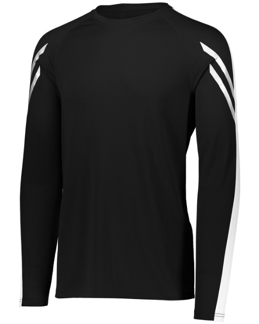 Picture of Holloway 222507 Unisex Dry-Excel Flux Long-Sleeve Training Top