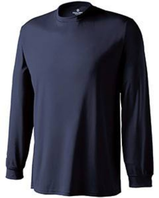 Picture of Holloway 222521 Adult Polyester Long Sleeve Spark 2.0 Shirt