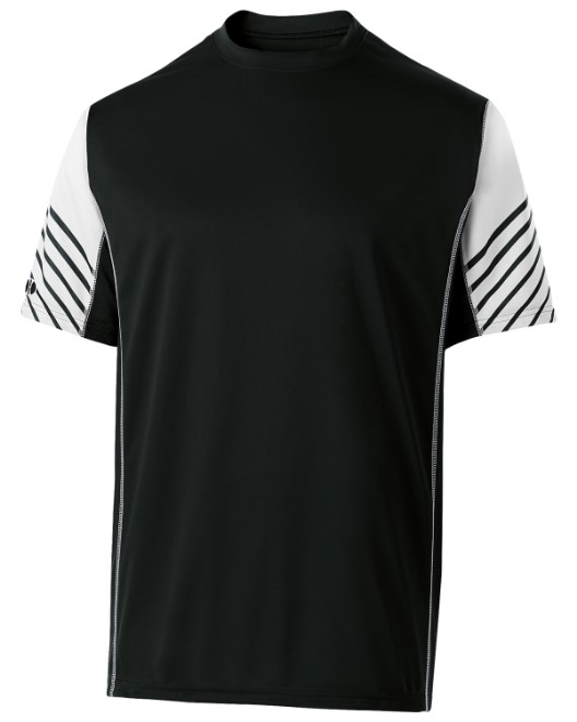 Picture of Holloway 222544 Unisex Dry-Excel Arc Short-Sleeve Training Top