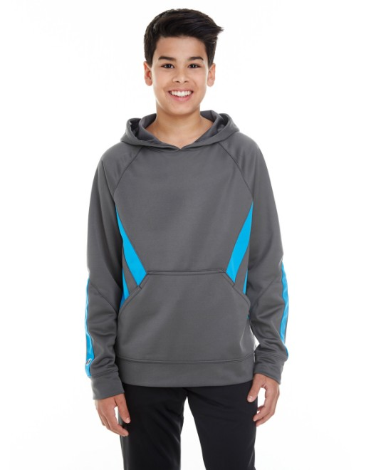 Picture of Holloway 222633 Youth Argon Hoodie