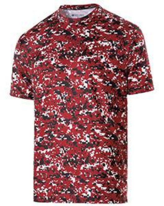 Picture of Holloway 228101 Adult Polyester Short Sleeve Erupt 2.0 Shirt