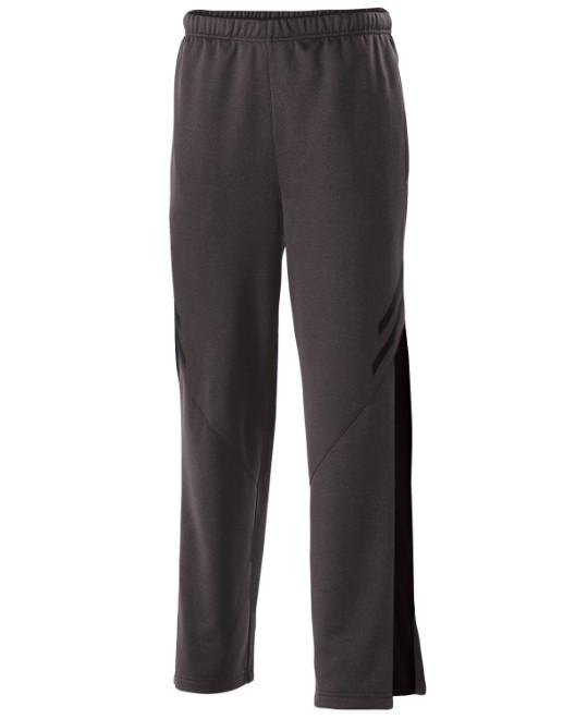 Picture of Holloway 229569 Unisex Flux Temp-Sof Performance Fleece Warm-Up Straight-Leg Pant