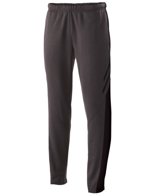 Picture of Holloway 229570 Unisex Flux Temp-Sof Performance Fleece Warm-Up Tapered-Leg Pant