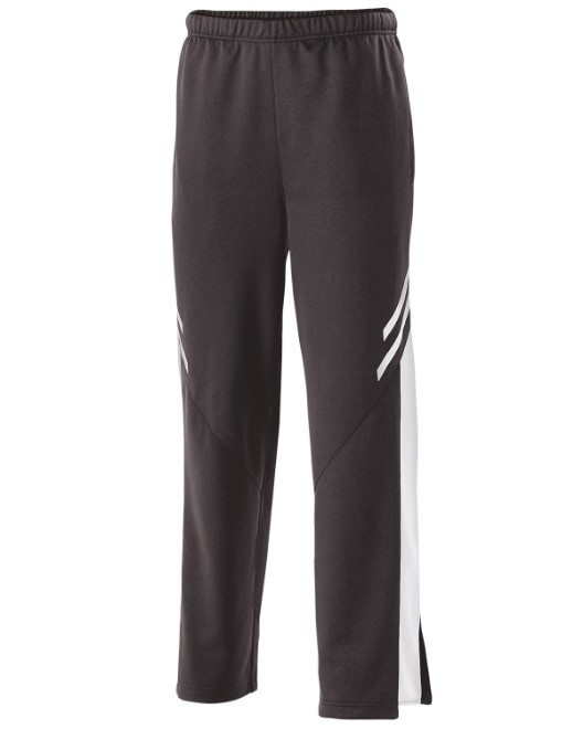 Picture of Holloway 229669 Youth Temp-Sof Fabric Performance Fleece Flux Straight-Leg Warm-Up Pant