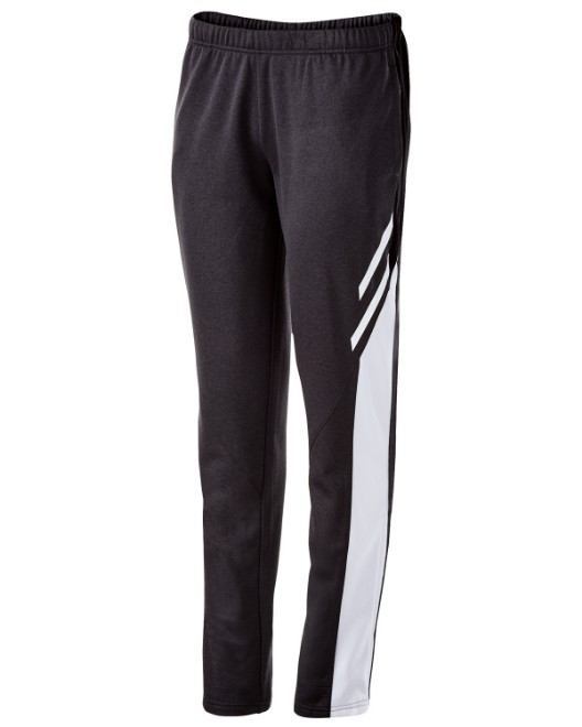 Picture of Holloway 229770 Womens Temp-Sof Performance Fleece Flux Tapered-Leg Warm-Up Pant