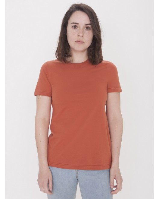 Picture of American Apparel 23215OW Womens Organic Fine Jersey Classic T-Shirt