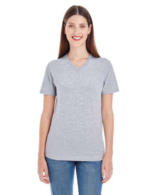 Picture of American Apparel 2356W Womens Fine Jersey Short-Sleeve V-Neck