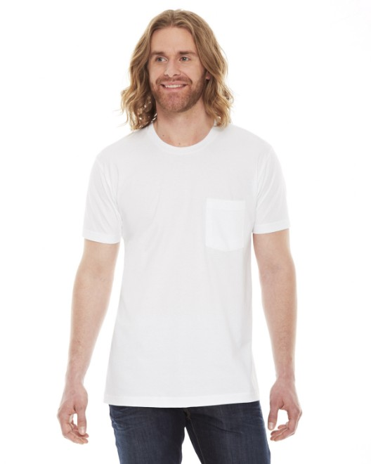Picture of American Apparel 2406W Unisex Fine Jersey Pocket Short-Sleeve T-Shirt