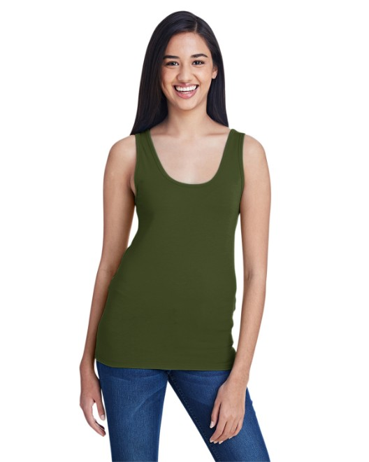Picture of Anvil 2420L Womens Stretch Tank