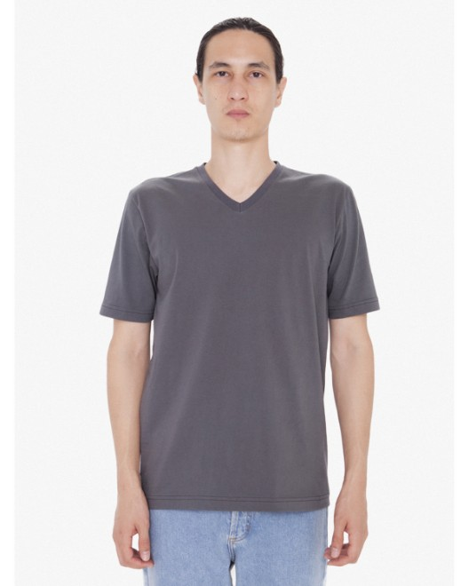Picture of American Apparel 24321W Unisex FINE JERSEY SHORT SLEEVE CLASSIC V-NECK
