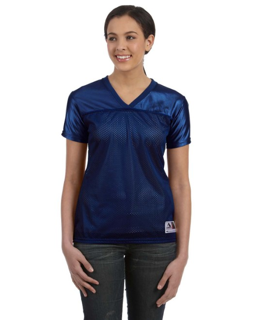 Picture of Augusta Sportswear 250 Ladies' Junior Fit Replica Football T-Shirt